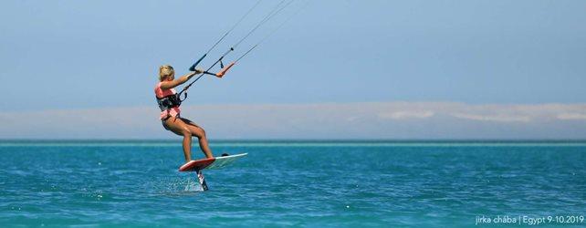 Kitesurfing - Egyptské hrátky na hydrofoilu