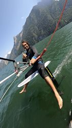 Kitesurfing - Léto v Alpách 2