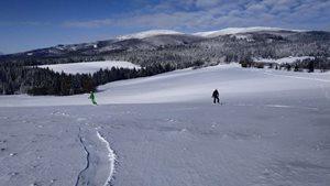 Snowkiting-OSC2021-keď je bezvetrie