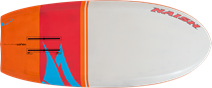 SUP foil board 2020 Naish Hover Carbon Ultra bottom