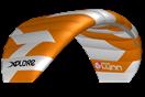 kite Peter Lynn Xplore Orange