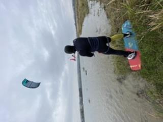 Kitesurfing - Bušák na Moravě