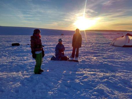 Snowkiting-Strormy-Moldava-snowkite-zavod-28-29-1-2017-Závody končí, balíme a jedeme domů