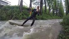 Fanatické vlny na Moravě - River surf