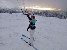 Snowkiting-Kite-session-v-krkonosich-