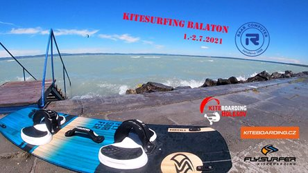 Kitesurfing - Kitesurfing BALATON 7/21
