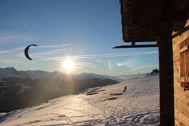 Snowkiting - Tenkrát ve šwajcu