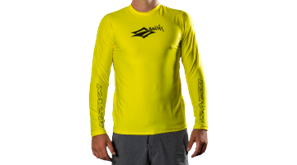 lycra NAISH LOOSE FIT long sleeve yellow