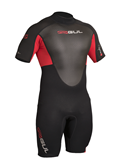 RESPONSE 3/2MM FL SHORTI GUL WETSUIT RED RE3319