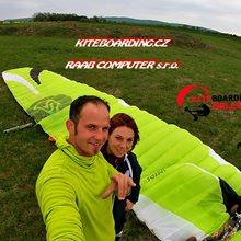 Behind the scenes kite Holešov